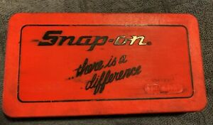 SNAP ON Tap & Die Set Metric TDM-117A  ~ NO RESERVE AUCTION