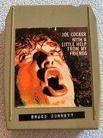 """JOE COCKER """"With A little Help From My Friends"""" 1969 DEBUT 8-Track VG 1st press"""