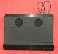 """15"""" Laptop Cooler Master Notepal Black Aluminum Cooling Pad USB Fans Stand Riser"""