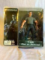 Neca Reel Toys Terminator 2 Action Figure T-800 Man or Machine Brand New