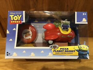 TYCO R/C Toy Story Pizza Planet Rocket Radio Control Vehicle