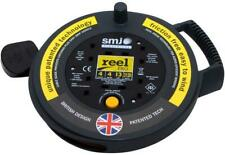 4 Way 4 Metre Cable Extension Reel 13amp Thermal Cable Reel New