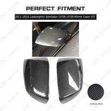 Full Carbon Mirror Cover 2pcs Kit For 2011-2017 Lamborghini Aventador All Models