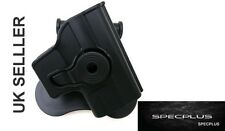 IMI STYLE RIGHT HANDED POLYMER HOLSTER SPRINGFIELD ARMORY XD45 BLACK UK