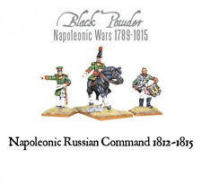 Warlord Games - Black Powder - Napoleonic Russian command (1812-15) - 28mm