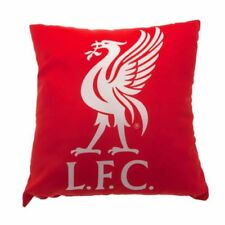 Liverpool Football Club Large Crest 40cm Square Cushion with Free UK P&P