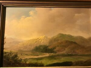VINTAGE DUTCH OIL PAINTING