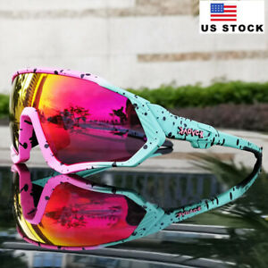 Men Cycling Sunglasses Man Woman Polarized Goggles Photochromatic Sports Glasses