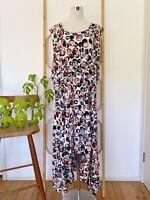 Stunning TS TAKING SHAPE multicolour geometric print midi dress plus size 18