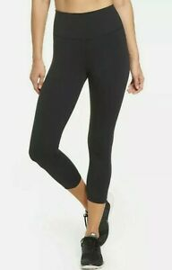 NIKE Women's Sculpt Victory High Waist Training Capris sz 1X  Black Leggings NWT