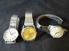 Timex Quartz Men's Wristwatch Watch LOT of 3 Jewelry Made In The USA