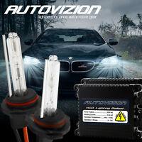 AUTOVIZION Xenon Light HID Kit 55W Slim H3 H4 H7 H8 H10 H11 H13 9004 9005 9006