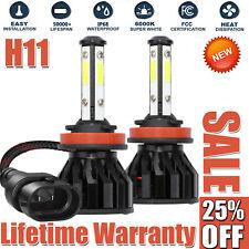 4-Side H11 LED Headlight H8 H9 Kits 2800W 380000LM Bulbs Power 6000K White Best