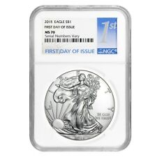 Sale Price- 2018 1 oz Silver American Eagle $1 Coin NGC MS 70 First Day of Issue