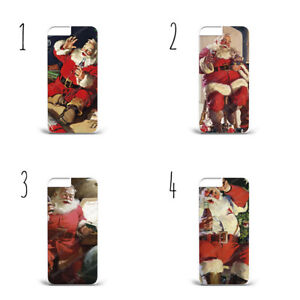 Santa Claus Vintage  Cola Christmas Case Cover iPhone / Samsung All models