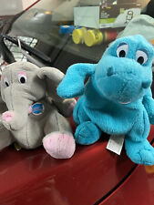 Bubba and Popcorn Planet Hollywood Collectible Bean Bag Plush Toys.1997