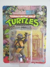 Teenage Mutant Ninja Turtles TMNT Donatello Action Figure Complete Card 1988