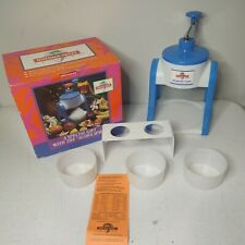 Hawaiian Sweet Island Deluxe Ice Shaver Kit Fluffy Snow Cone Maker Cups Amp Stand