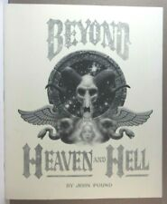 BEYOND HEAVEN & HELL BY JOHN POUND SIGNED LIMITED ED. PORTFOLIO - 831/1000 -1978