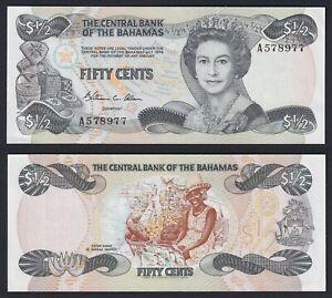 Bahamas 50 cents 1984 SUP/AU  B-02