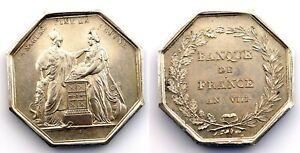 Francia-Banco de Francia. Consulado. 1800. Paris. SC-/UNC-. Plata 24,2 g. Escasa