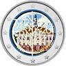 2 Euro Gedenkmünze Estland 2020 coloriert / m Farbe Farbmünze Frieden Tartu 2