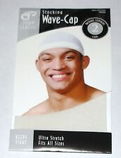 STOCKING WAVE CAPS WHITE 10 PCS KNIT DURAG DOORAG TITAN - USA SHIPPER