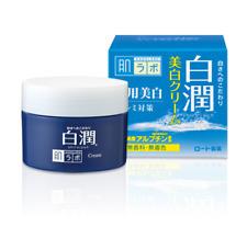Rohto Hadalabo Shirojyun Whitening Cream 50g Arbutin Free Shipping