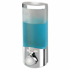 The Dispenser SOAP DISPENSER Uno 1 Shower Push Button ABS Plastic Chrome Accents