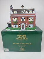 "Dept. 56 Dickens Heritage  ""Village Gad's Hill Place""  57535  **READ**"