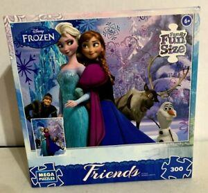 Disney Frozen Elsa and Anna Sisters Forever 300 Mega Piece Puzzle