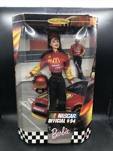 NASCAR Official # 94 Barbie Doll Mattel 22954