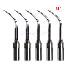 5*Ultrasonic Scaling Scaler Insert Tip G4 for EMS WOODPECKER Handpiece CJA