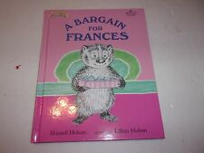 (3) Frances hardcover (Bargain for Frances)  by Russell Hoban         (ExcCond)