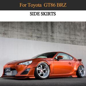 Carbon Seitenschweller für Toyota GT86 Subaru BRZ 2013-2020 Schweller Side Skirt