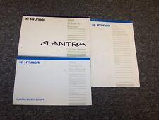 1995 Hyundai Elantra Sedan Owner Owner's Operator Manual Set SE GLS 1.6L 1.8L
