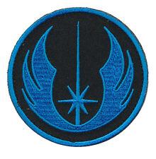 STAR WARS JEDI ORDER LOGO MORALE 3 INCH ROUND IRON ON PATCH