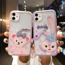Cute Cartoon Zoo Duffy Bear Rabbit Phone Case Cover For iPhone11ProMax 7 8+ XR X