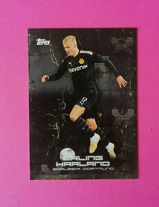 🔥 ERLING HAALAND 🔥 Borussia Dortmund 2020 Topps BVB Curated Set ⚽ Rookie #25