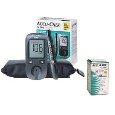 Accu Chek Active Diabetes Monitor with 50Test Strips  Gluco Meter