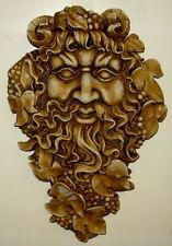 "17"" Greenman Spirit of Nectar Celtic Mythical Garden home Wall Decor Overstock"