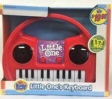 NEW, Kids Stuff Little One's Keyboard, Light & Sound Musical 22 Keys