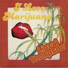 THOMPSON, Linval - I Love Marijuana - Vinyl (LP)