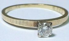 Diamond Engagement Ring Size 5.75 B 00006000 eautiful Solid 14k Yellow Gold