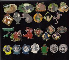 #50 Disney Pin Pins- Walt Disney World-AUSSUCHEN:Dschungelbuch,Robin Hood,Stitch