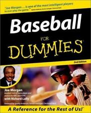 Baseball for Dummies-ExLibrary