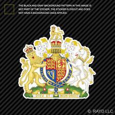 British Royal Coat of Arms Sticker Decal Vinyl United Kingdom flag GBR GB