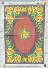 Shillcraft Exacta-Graph Paper Pattern - #459 Rose Oval 27x40 w/recipe