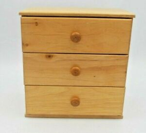 Vintage Doll  Furniture Chest of Drawers 1950s-60s