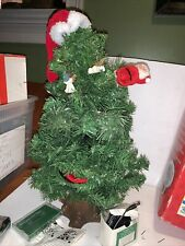 New listing Gemmy 1996 Douglas The Talking Fir 20' Animated Singing Christmas Tree Complete